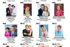 Топ 15 лидеров по РФ